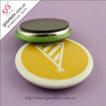 Promotional gifts tin badge OEM round badge plastic magnetic badges