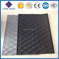 Durable high efficiency PVC infill film sheet black, cross flow cooling tower infill