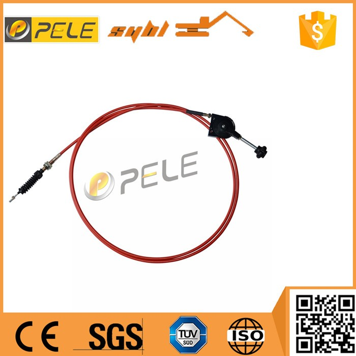 Hand lawn mower throttle cable for machinery PC excavator