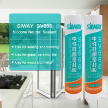 silicone sealant tube for window