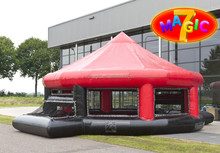 Inflatable SOCCER ARENA / Challenging soccer attraction / Inflatable indoor panna cage