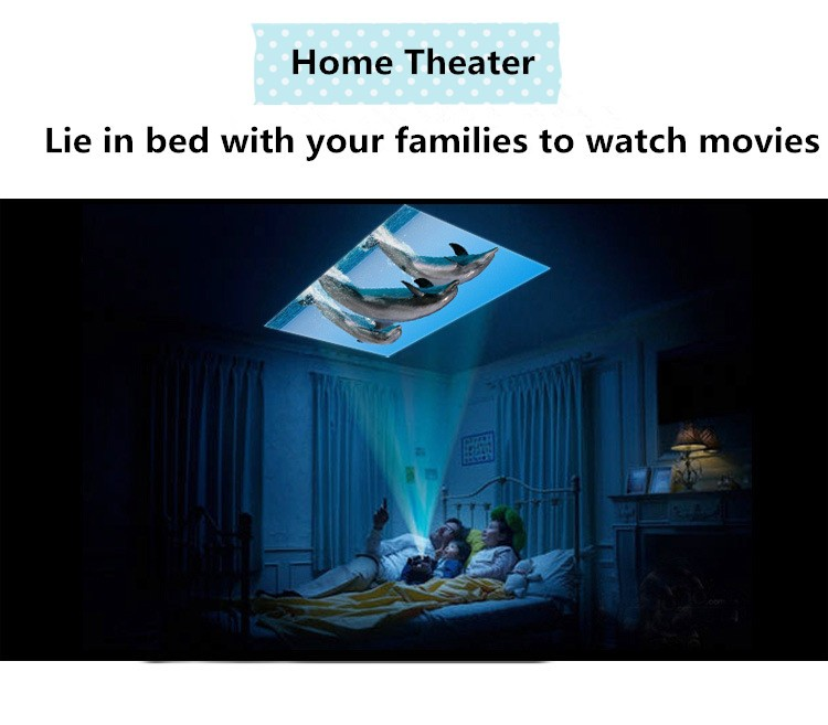 DLP Style and Business & Education,Home,Entertainment Use Smart 4K Projector LED Projector