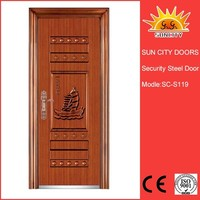 Security steel french doors exterior SC-S119