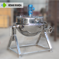 Hot sale food grade multi-functional large commercial cooking pots with Pharmaceutical and Chemical Industry