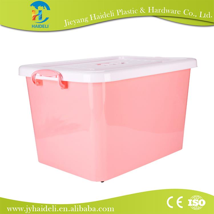 whole large plastic storage bins with lids high capacity plastic storage container box factory s promotional