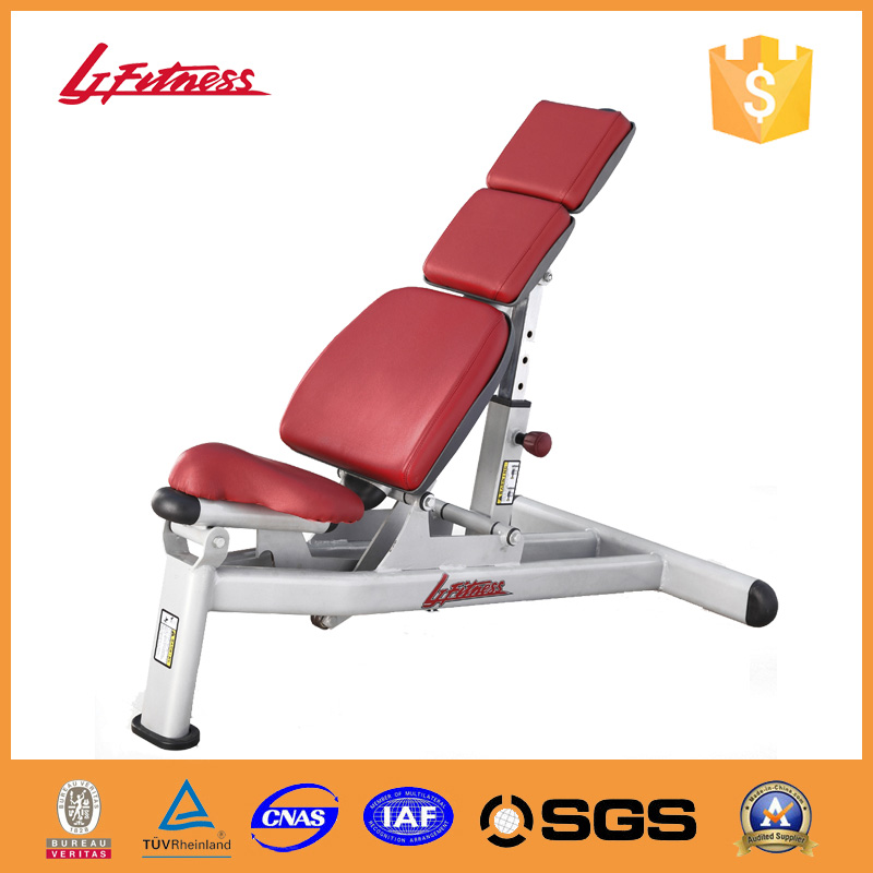Multi adjustable bench body training gym chair