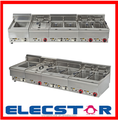 Gas/Electric Fryer, single and double tank available, Countertop Fryer