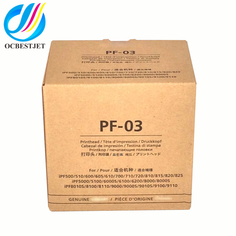 OCBESTJET PF-<strong>03</strong> New print head pf <strong>03</strong> for canon ipf710 IPF605