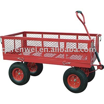 Hand pull wagons