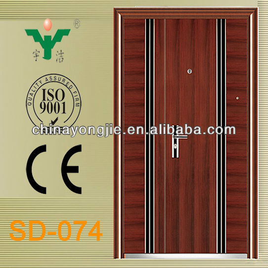 Fashionable Design Steel Burglar-Proof Doors