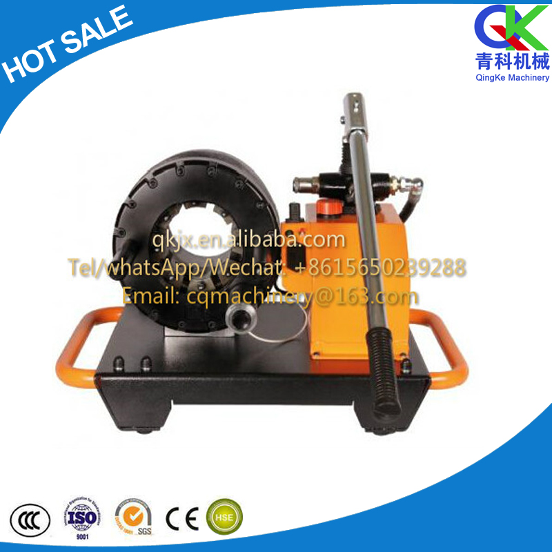 manual hydraulic hose crimping machine