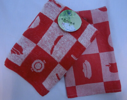 square towel with pattern pans