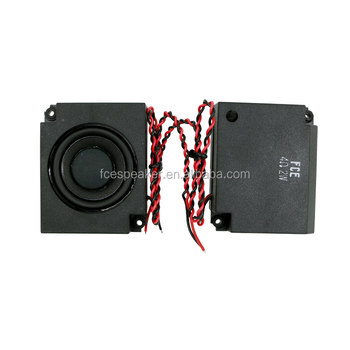 50 4ohm 2W good quality mini speaker box for music player or audio speaker systems