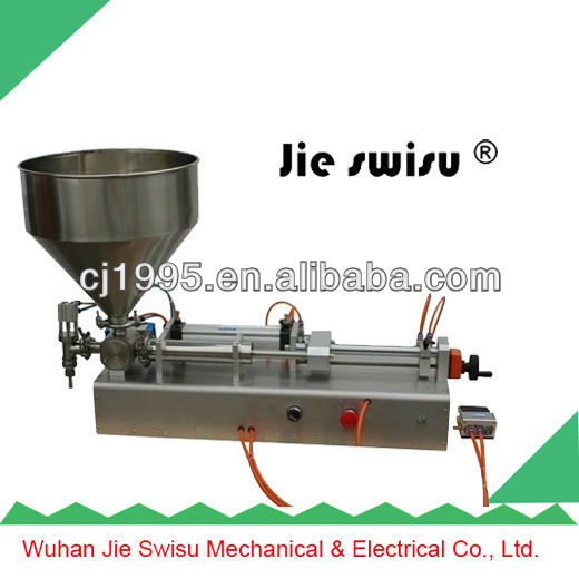 glass jar for pickles filling packing machine