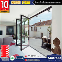 latest modern house and office design aluminum door with powder coating surface treatment