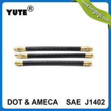 yute high performance dot 3/8 inch epdm rubber trailer air brake hose