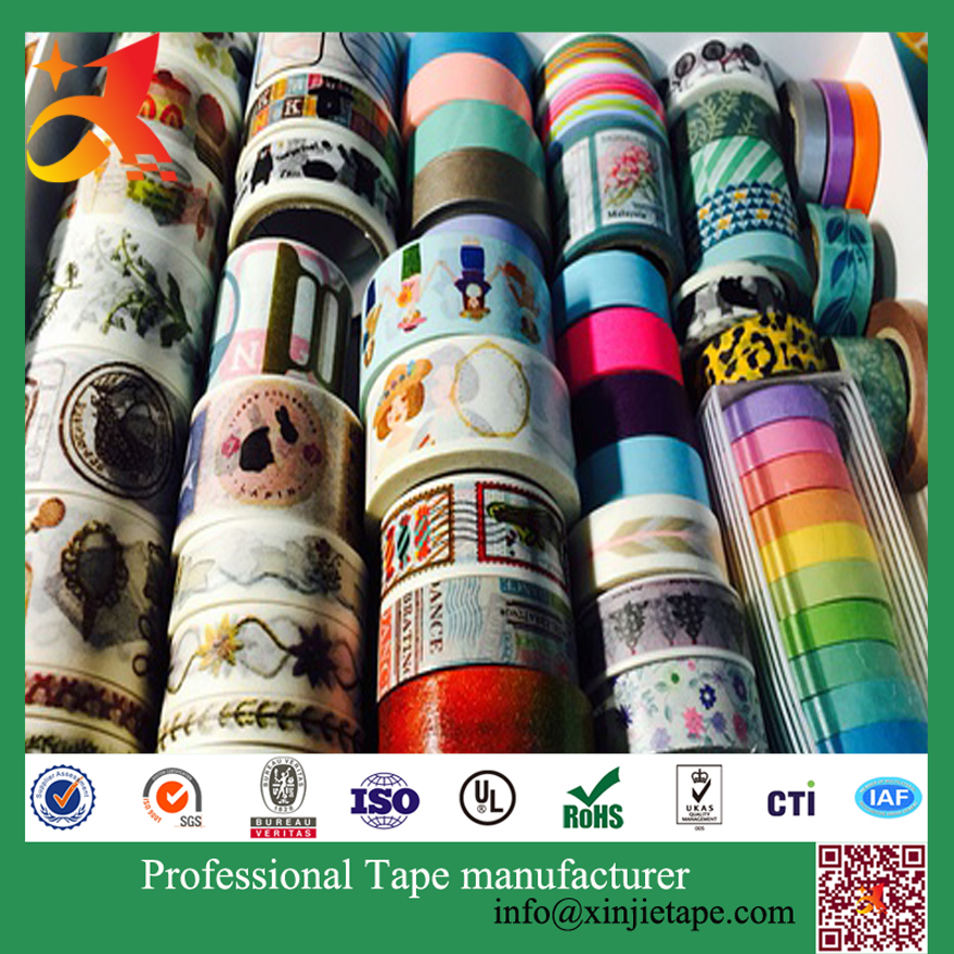(jiangxi xinjie) 10M L x 15mm W Japanese Washi Masking Tape free <strong>samples</strong>