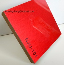 high gloss metal uv mdf ,Aluminum covered mdf board