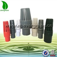 high quality PVC water pump gate foot valve