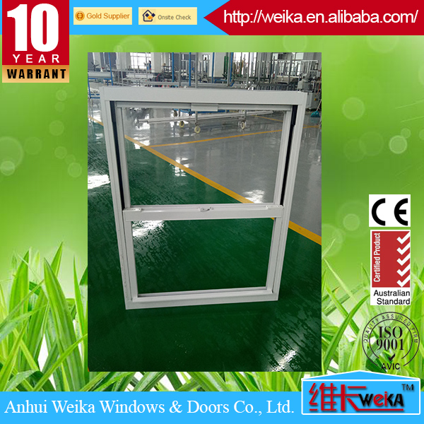 factory directly white color double hung double tilt window