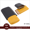 Guangzhou wholesale cigar case genuine leather cigar case