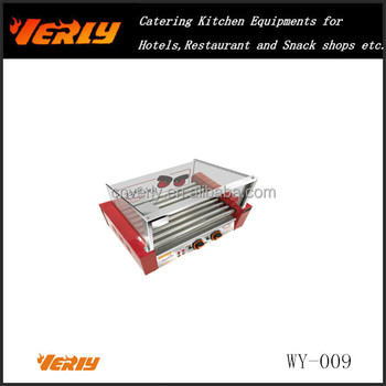 WY-009 CE Approved 9 Rolls Hot dog grill