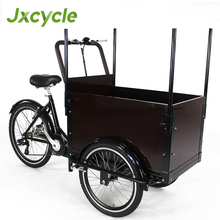 outdoor cargo tricycle / mini cargo bike with front box