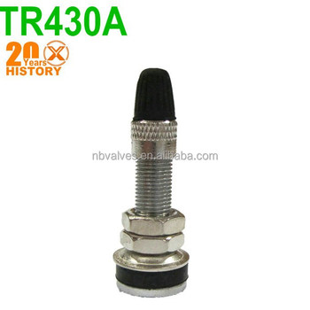 TR430A tubeless tire valves/motorcycle tire valve