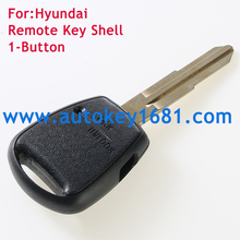 top quality car remote key shell case For Hyundai Accent transponder key shell