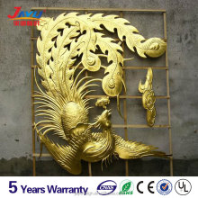 Best selling products modern crafts 3d diamensional effect stainless steel metal sculpture