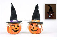 halloween decoration artificial foam pumpkin with LED