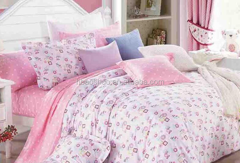 40*40 128*68 printed bedding fabrics bed set fabrics wholesale poplin bedding fabrics
