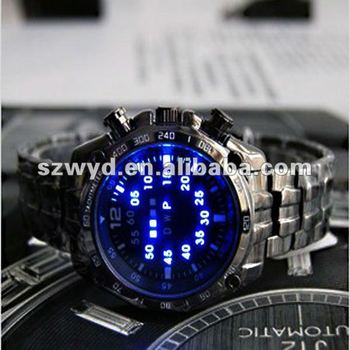 New Arrival Men's Digital Watches, Big Face LED Watches, Colorful Light Watches