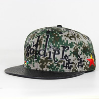 Russian military camouflage fabrics hats