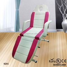 2014 folding massage facial bed&massage electric beauty bed&beauty massage table portable (KZM-8203)