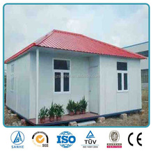Affortable Beautiful And Comfortable Steel Frame Building Prefab House