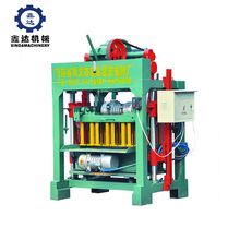 5.5kw small scale home industries manual concrete cement block brick making machine for sale
