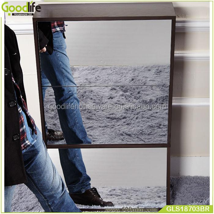 GLS18703wooden shoe cabinet