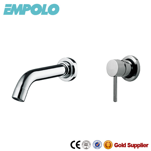 New Style Wall Mounted Brass Faucets for the Bathroom 16 1701