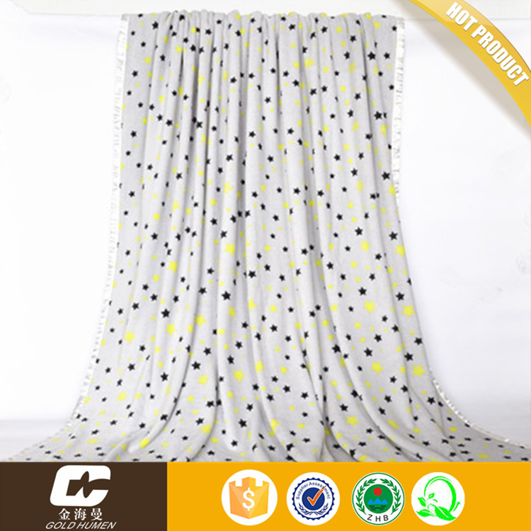 New Designs Polyester Micro Fleece Blanket Printed Coral Fleece Blanket Bed Sheets