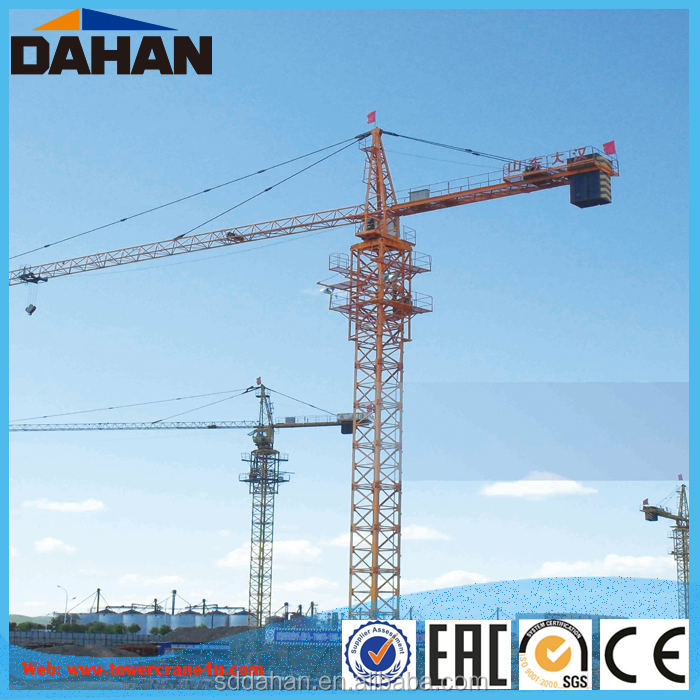 QTZ125 Moving Tower Crane With Good Price