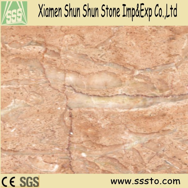 iran pink marble tiles for wall and floor