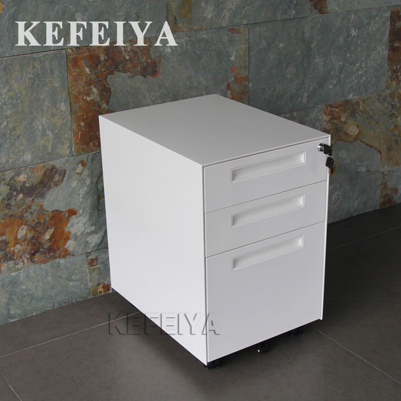 Manufacturer Direct File Cabinet With 2 Drawer Small Mobile Pedestal/Office Furniture For Clothes Storage