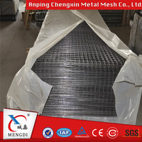 Factory supply high quality 1x1 galvanized welded wire mesh /Square wire mesh panel