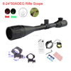 6x-24x magnification 50mm Objective Diameter tactical hunting riflescope 6-24*50AOEG