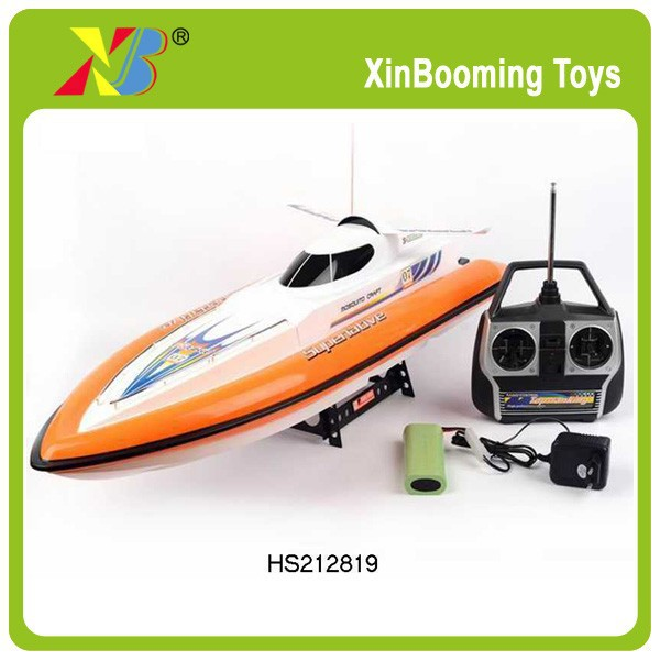 76cm long 2.4Ghz full function high quality RC hobby toys RC boat