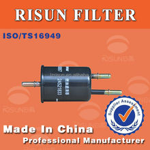 Universal Fuel filter 24521833 for automobile cng/lpg fuel injector filter system Customized auto Spare Parts