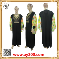 Muslim women dress butterfly abaya fashion baju muslim abayas