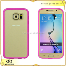 Smart replacement back case of mobile phone cover for Samsung S6