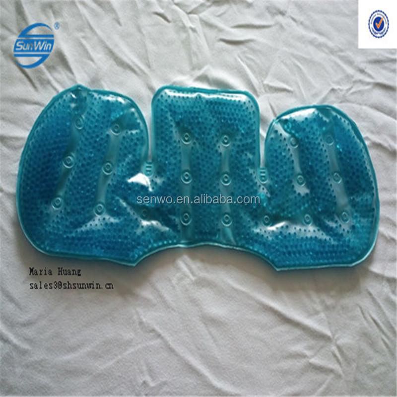 Therapy soft custom reusable PVC Gel Cooling Beads Hot Cold Pack